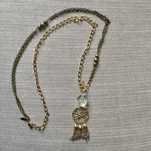 Urban outfitters long tassle necklace